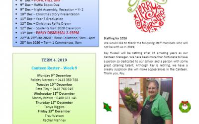 2019 – Term 4 – 5th Dec